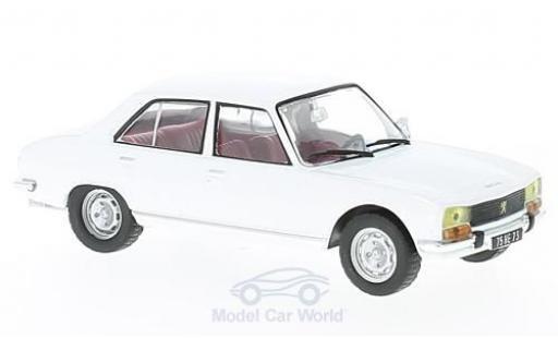 Peugeot 504 Berline 1/43 Solido Berline blanche miniature