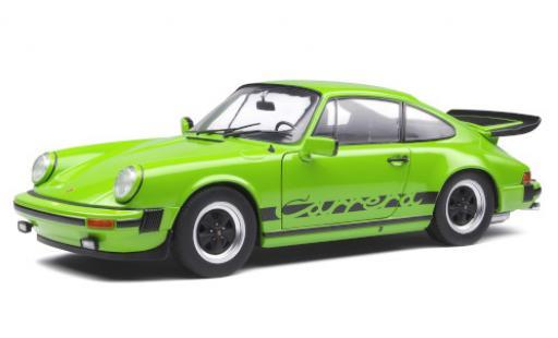 Porsche 930 1/18 Solido 911 Carrera 3.0  grün/Dekor 1984 modellautos