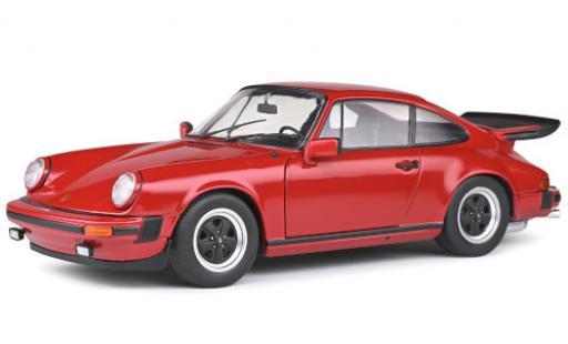 Porsche 930 1/18 Solido 911 Carrera 3.2 red 1984 diecast model cars