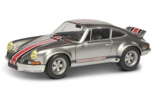 Porsche 911 1/18 Solido Carrera RSR grey/Dekor diecast model cars