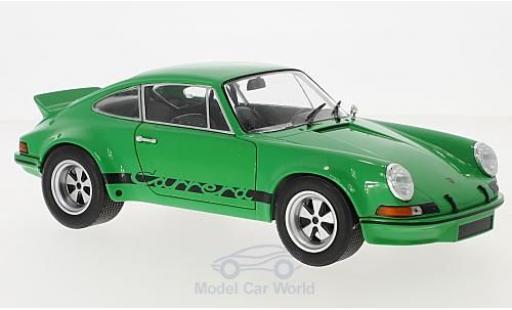 Porsche 930 SC 1/18 Solido R 2.8 grün 1974 miniatura