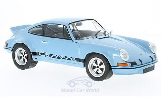 Porsche 930 RSR 1/18 Solido 911 2.8 blue 1974 diecast model cars