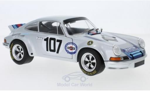 Porsche 911 Targa 1/18 Solido RSR 2.8 No.107 Martini Florio 1973 G.Steckkönig/G.Pucci miniature
