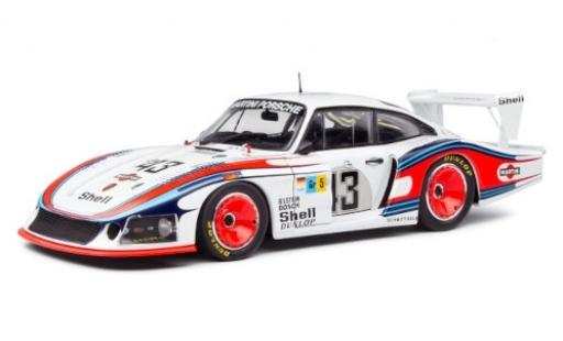 Porsche 935 1978 1/18 Solido /78 RHD No.43 Martini Racing System Martini 24h Le Mans Moby Gros M.Schurti/R.Stommelen miniature