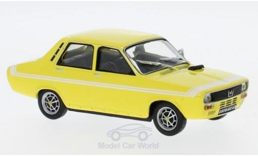 Renault 12 Gordini 1/43 Solido yellow 1970 diecast model cars