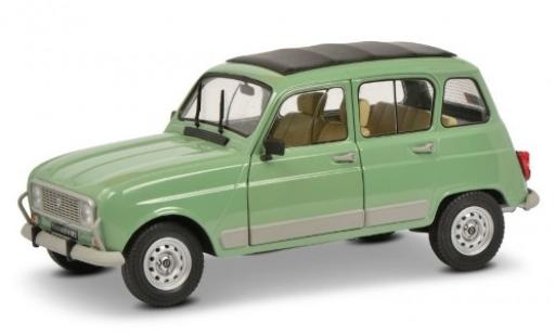 Renault 4 1/18 Solido GTL green 1978 diecast model cars