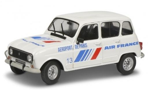 Renault 4 1/18 Solido L GTL Air France 1978 diecast model cars