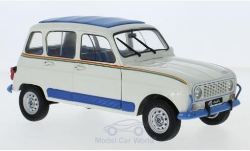 Renault 4 1/18 Solido L Jogging beige/bleue miniature