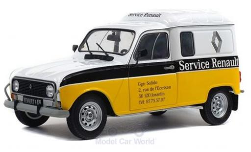 Renault 4 1/18 Solido LF Service 1975 diecast model cars