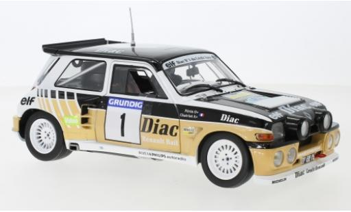 Renault 5 1/18 Solido Maxi No.1 Diac F.Chatriot/M.Perin diecast model cars