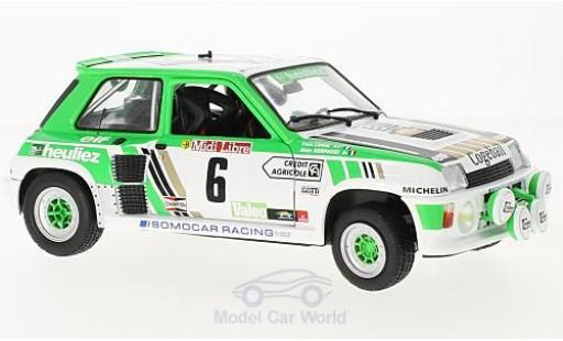 Renault 5 Turbo 1/18 Solido Gr. B No.6 Rallye de Lozere 198 A.Serpaggi/Y.Legal diecast model cars
