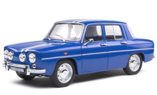 Renault 8 1/18 Solido Gordini 1300 bleue/blanche 1967 miniature
