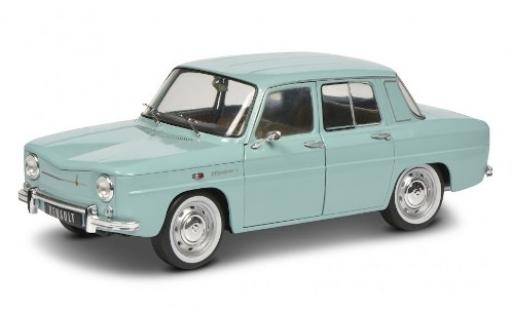 Renault 8 1/18 Solido Major bleue miniature