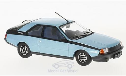 Renault Fuego 1/43 Solido GTX metallise bleue 1982 miniature
