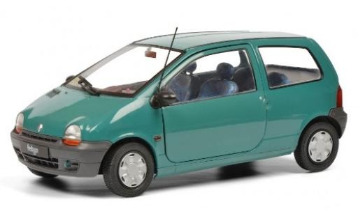 Renault Twingo 1/18 Solido I green 1993 diecast model cars