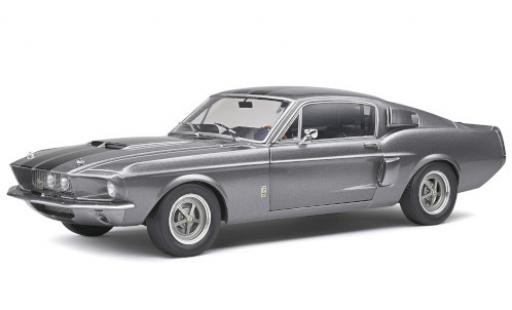 Shelby Mustang 1/18 Solido GT500 metallise grey/black 1969 diecast model cars