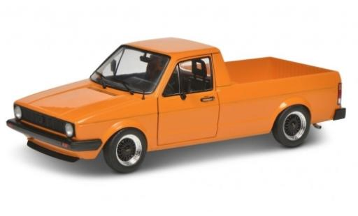 Volkswagen Caddy 1/18 Solido MK I orange 1982 diecast model cars