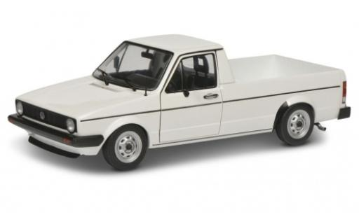 Volkswagen Caddy 1/18 Solido MK I white 1982 diecast model cars