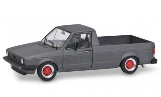 Volkswagen Caddy 1/18 Solido Mk1 Custom matt-anthrazit 1982 diecast model cars
