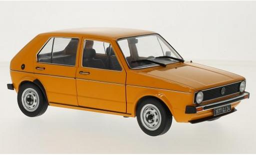 Volkswagen Golf 1/18 Solido 1 orange 1974 diecast model cars