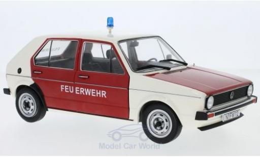 Volkswagen Golf V 1/18 Solido I Feuerwehr 1974 modellino in miniatura