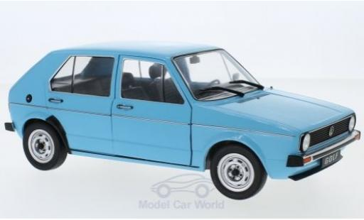 Volkswagen Golf 1/18 Solido I L blue 1973 diecast model cars
