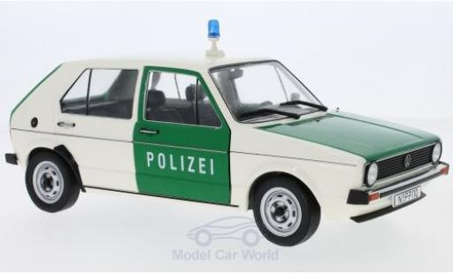 Volkswagen Golf V 1/18 Solido I Polizei 1974 diecast model cars