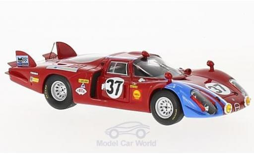 Alfa Romeo 33 1/43 Spark /2 No.37 24h Le Mans 1968 T.Pilette/R.Slotemaker miniatura