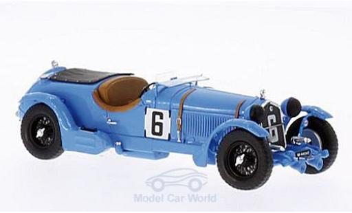 Alfa Romeo 8C 1/43 Spark No.6 24h Le Mans 1934 diecast model cars