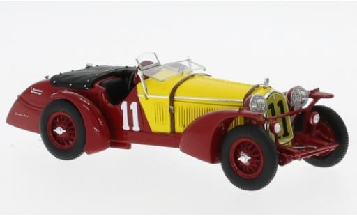 Alfa Romeo 8C 1/43 Spark RHD No.11 24h Le Mans 1933 R.Sommer/T.Nuvolari diecast model cars