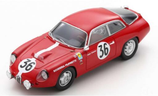 Alfa Romeo Giulietta 1/43 Spark GZ No.36 Scuderia Filipinetti 24h Le Mans 1963 K.Foitek/A.Schäfer miniature