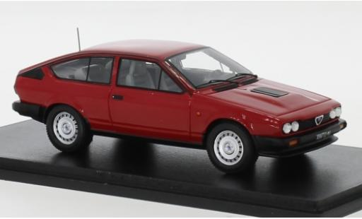 Alfa Romeo GT 1/43 Spark V6 red 1980 diecast model cars