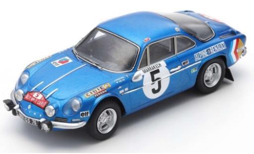 Alpine A110 1/43 Spark No.5 Rally Monte Carlo 1971 J.Vinatier/P.du Pasquier diecast model cars