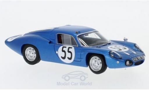 Alpine A110 1/43 Spark No.55 24h Le Mans 1965 J.Cheinisse/J.-P.Hanrioud diecast model cars
