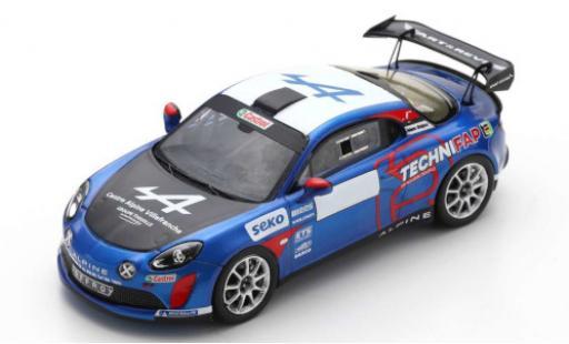 Alpine A110 1/43 Spark Rally RGT No.43 Rallye WM Rallye Monte Carlo 2021 E.Guigou/A.Coria diecast model cars