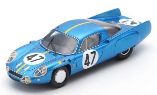 Alpine A210 1/43 Spark No.47 24h Le Mans 1966 P.Toivonen/B.Jansson diecast model cars