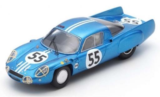 Alpine A210 1/43 Spark No.55 24h Le Mans 1966 A.de Cortanze/J.-P.Hanrioud diecast model cars