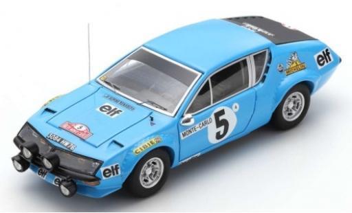 Alpine A310 1/43 Spark No.5 Elf Rallye WM Rally Monte Carlo 1975 J-L.Therier/M.Vial diecast model cars