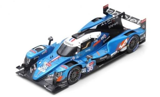 Alpine A470 1/18 Spark -Gibson No.36 Signatech Matmut 24h Le Mans 2019 N.Lapierre/A.Negrao/P.Thiriet modellino in miniatura