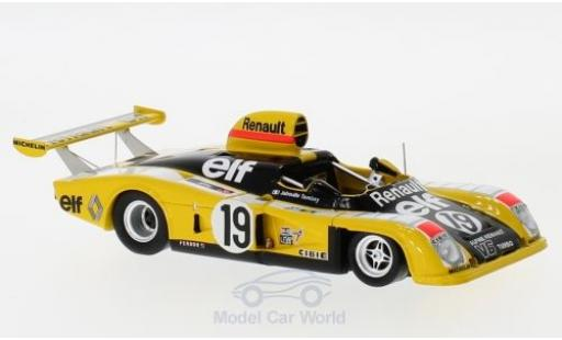 Alpine A442 1/43 Spark Renault RHD No.19 24h Le Mans 1976 J.P.Jabouille/P.Tambay diecast model cars