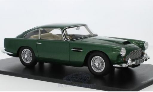 Aston Martin DB4 1/18 Spark Series II mettalic grün RHD 1960 modellautos