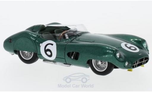 Aston Martin DBR1 1/43 Spark RHD No.6 24h Le Mans 1959 M.Trintignant/P.Frere miniature