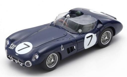 Aston Martin DBR1 1/43 Spark RHD No.7 24h Le Mans 1960 J.Clark/R.Salvadori miniature