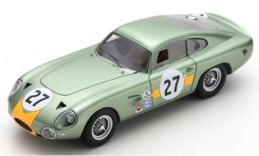 Aston Martin DP214 1/43 Spark RHD No.27 2000km Daytona 1964 B.Hetreed/C.Kerrison diecast model cars