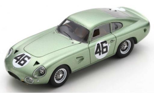 Aston Martin DP214 1/43 Spark RHD No.46 Coppa InterEuropa Monza 1963 R.Salvadori diecast model cars