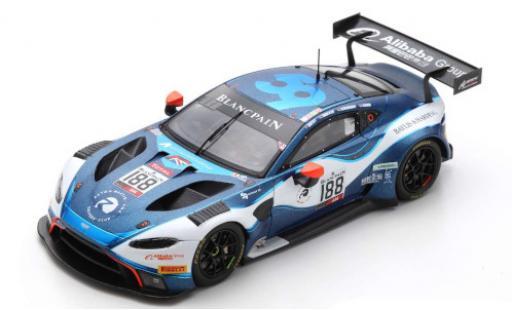 Aston Martin Vantage 1/43 Spark AMR GT3 No.188 Garage 59 24h Spa 2019 A.West/C.Harris/C.Goodwin/R.Gunn diecast model cars