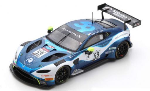 Aston Martin Vantage 1/43 Spark AMR GT3 No.59 Garage 59 24h Spa 2019 C.Ledogar/A.Watson/J.Adam diecast model cars