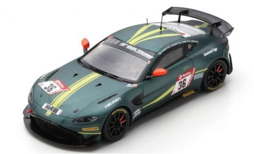 Aston Martin Vantage 1/43 Spark AMR GT4 No.36 AMR Performance Center 24h Nürburgring 2019 D.Turner/C.Goodwin/C.Gebhardt diecast model cars