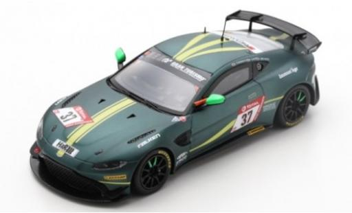 Aston Martin Vantage 1/43 Spark AMR GT4 No.37 AMR Performance Center 24h Nürburgring 2019 J.Chadwick/P.Cate/A.Brundle diecast model cars