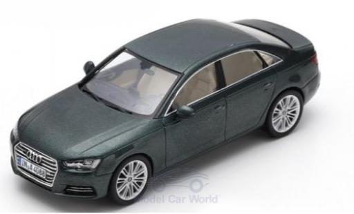 Audi A4 1/43 Spark métallisé verte 2016 miniature